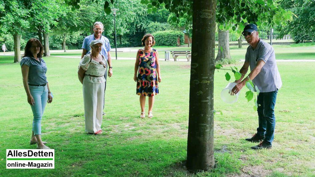 Vor 15 Jahren wurden die Bäume der Städtepartnerschaft gepflanzt